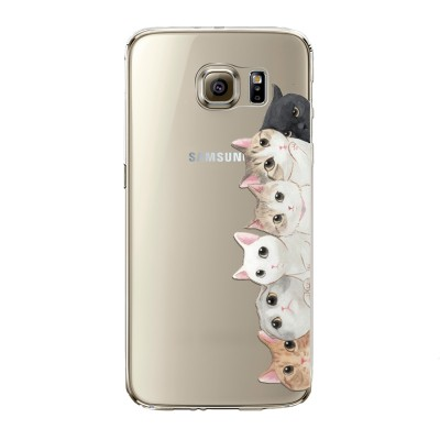"Husa Samsung Galaxy S6 Edge ""KITTENS SIDE"""