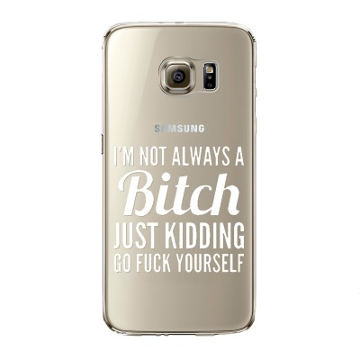 "Husa Samsung Galaxy S6 Edge ""BITCHY"""