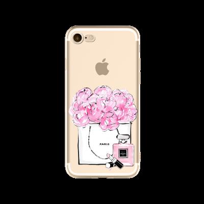 "Husa iPhone 7 / iPhone 8 ""PARIS JE'TAIME"""