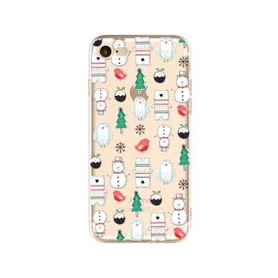 "Husa iPhone 7Plus / iPhone 8Plus ""CHRISTMAS PATTERN"""