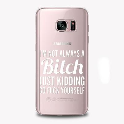 "Husa Samsung Galaxy S8 ""BITCHY"""