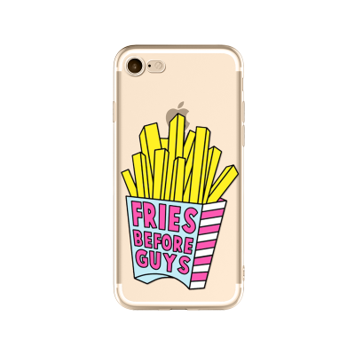 Husa iPhone FRIES BEFORE GUYS