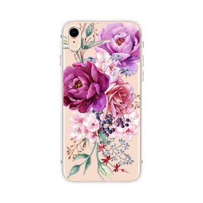 Husa iPhone XR Silicon Premium BEAUTIFUL FLOWERS BOUQUET