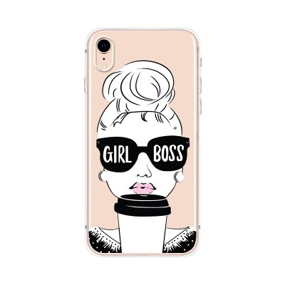 Husa iPhone XR Silicon Premium GIRL BOSS