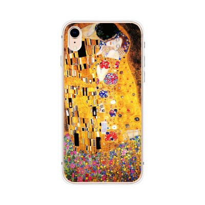 Husa iPhone XR Silicon Premium KLIMT - THE KISS