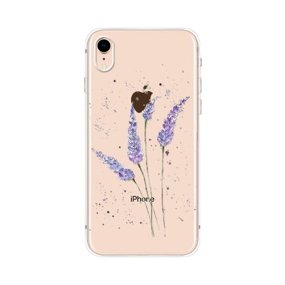 Husa iPhone XR Silicon Premium LAVENDER FEELINGS