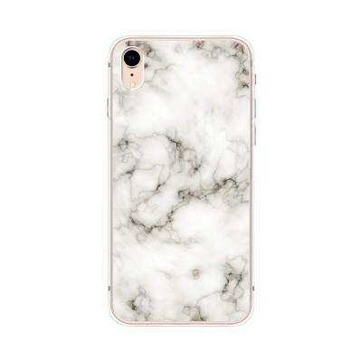 Husa iPhone XR Silicon Premium MARMURA ALBA