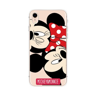 Husa iPhone XR Silicon Premium MICKEY-MINNIE