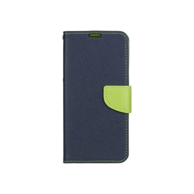 Husa Flip Carte Fancy Book Samsung Galaxy A71, Albastru Verde