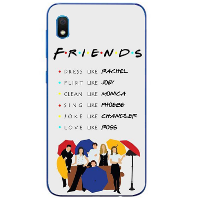 Husa Samsung Galaxy FRIENDS UMBRELLA