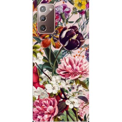 Husa Samsung Galaxy FLOWERS - PINK