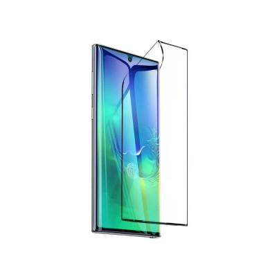 Folie Nano Tpu Anti-Shock Baseus Samsung Galaxy Note 10 Negru