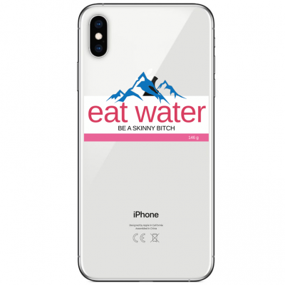 Husa iPhone EAT WATER