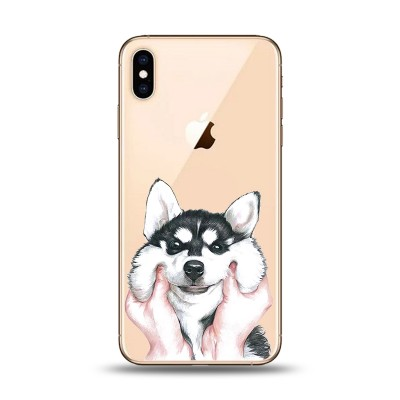 Husa iPhone FLUFFY HUSKY