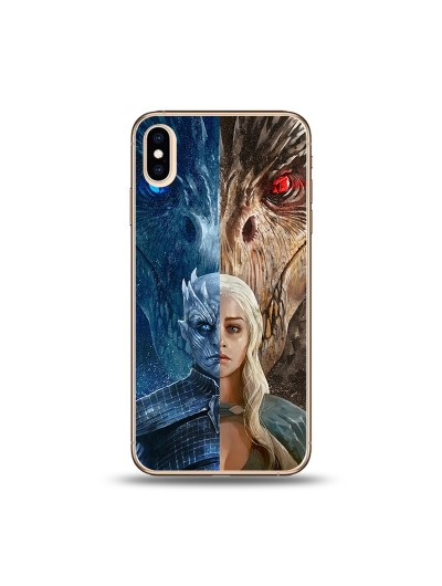 Husa iPhone Xs MAX Silicon Premium GAME OF THRONES