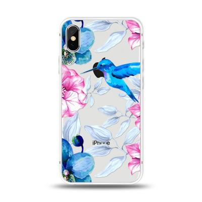Husa iPhone Xs MAX Silicon Premium HUMMINGBIRD TOUCH