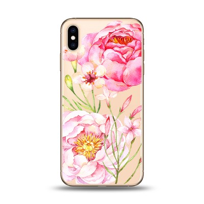 Husa iPhone PINK FLOWERS