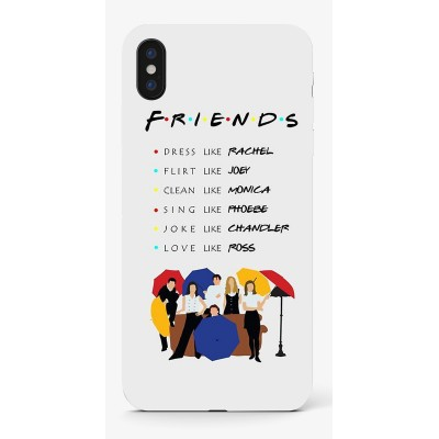 Husa iPhone FRIENDS UMBRELLA