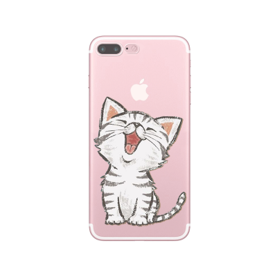 Husa iPhone HAPPY KITTY