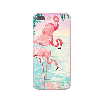 "Husa iPhone 7Plus / iPhone 8Plus ""FLAMINGO FAMILY"""