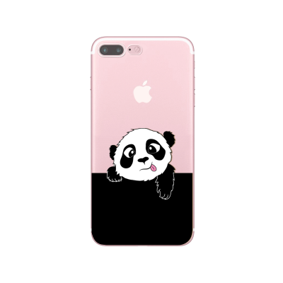 "Husa iPhone 7Plus / iPhone 8Plus ""PANDA SAYS HI"""