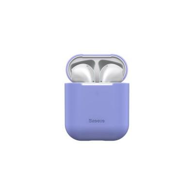 Husa Baseus Silicon Ultrathin Pentru Apple Airpods 1/2 Violet