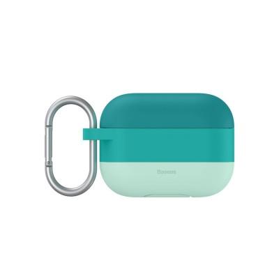 Husa Carcasa Baseus Silicon Gel Pentru Apple Airpods Pro Verde
