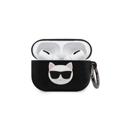 Husa Protectie Originala Karl Lagerfeld Pentru Airpods Pro Negru