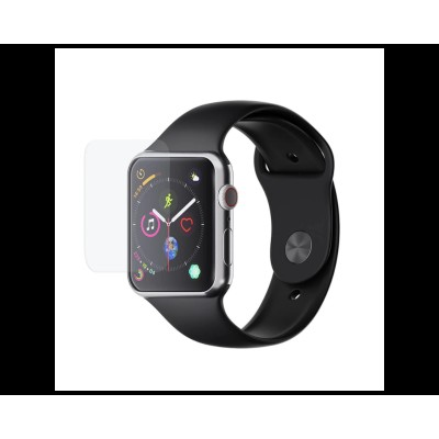 Set 3 buc. Folie Policarbonat 3mk Compatibila Cu Apple Watch 4/5/6/se 44mm, Full Cover, Transparenta