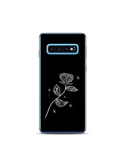 Husa Samsung Galaxy S10 Silicon Premium LONELY ROSE