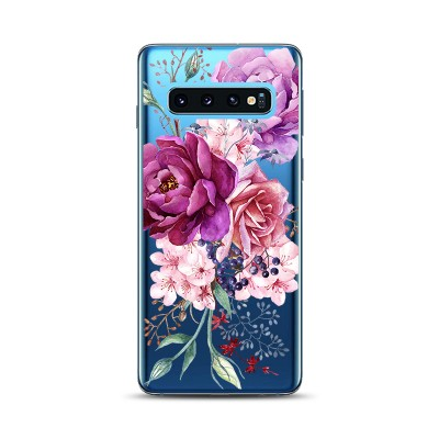 Husa Samsung Galaxy S10 Plus Silicon Premium BEAUTIFUL FLOWERS BOUQUET