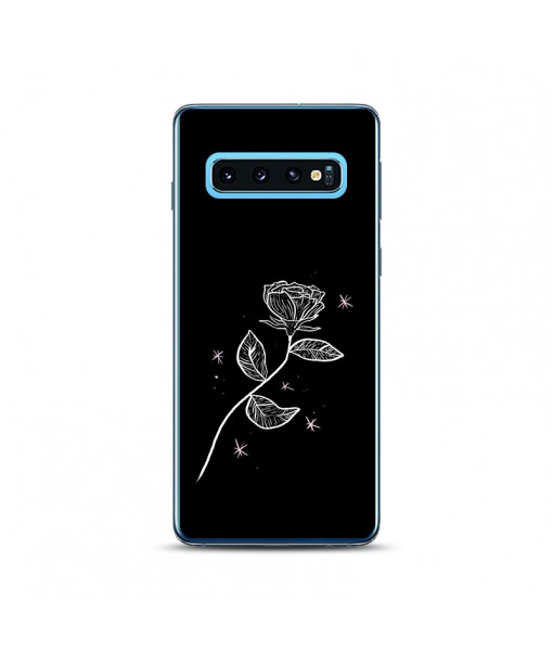 Husa Samsung Galaxy S10 Plus Silicon Premium LONELY ROSE