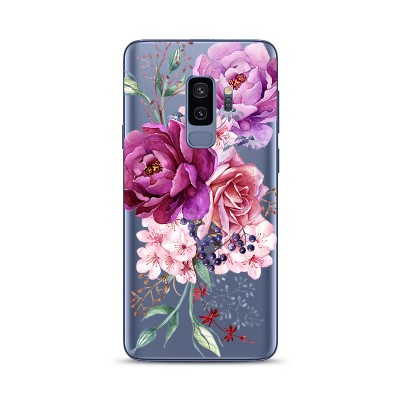 Husa Samsung Galaxy S9 Plus Silicon Premium BEAUTIFUL FLOWERS BOUQUET