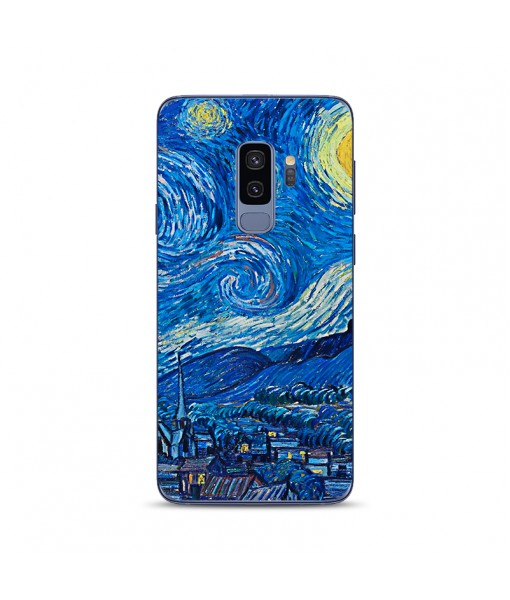 Husa Samsung Galaxy S9 Plus Silicon Premium VAN GOGH - STARRY NIGHT
