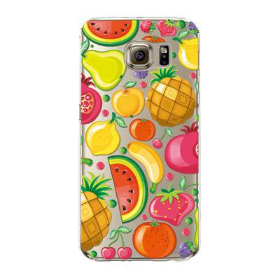 "Husa Samsung Galaxy S6 Edge ""FRUITS AND COLORS"""