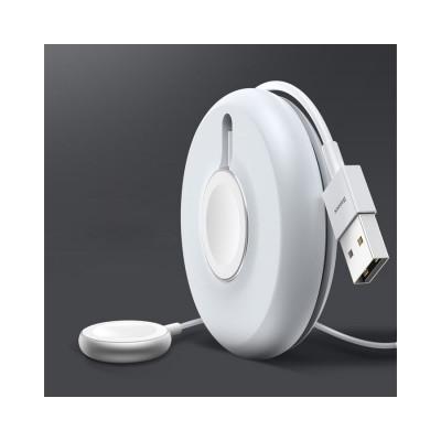 Incarcator Baseus Yoyo Pentru Apple Watch Cu Cablu De 1 Metru Alb
