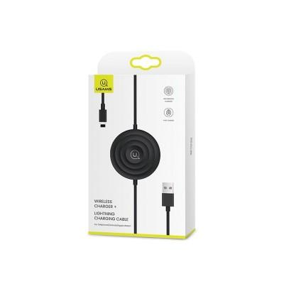 Incarcator Wireless Usams 3 In 1 ,Incarcare Smartphone ,Apple Watch ,Airpods ,Negru