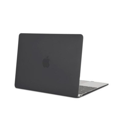 Husa Carcasa Upzz Tech-protect Smartshell Macbook 12 Inch ,Negru Matte