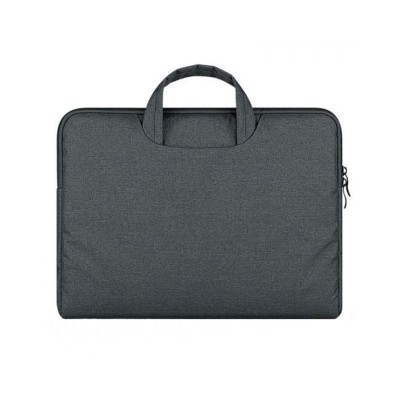 Husa Geanta Tech-protect Briefcase Macbook 12 Air 11 Dark Grey