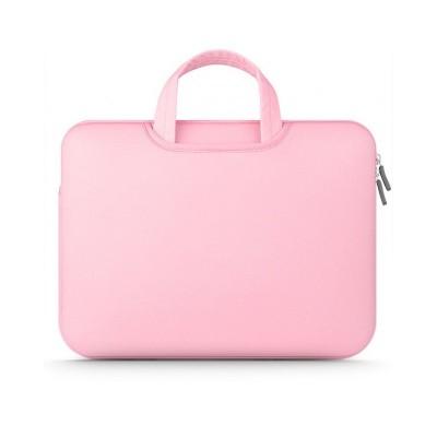 Husa Geanta Tech Protect Airbag Compatibila Cu Laptop 11 - 12 Inch ,Roz