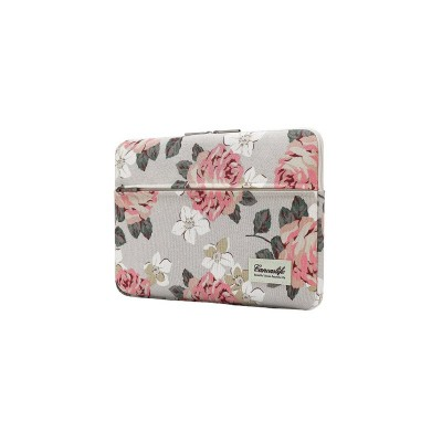 Husa Canvaslife Sleeve Compatibila Cu Laptop / Macbook 13-14 Inch Roz