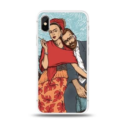 Husa iPhone X / iPhone XS Silicon Premium VAN GOGH & FRIDA KHALO