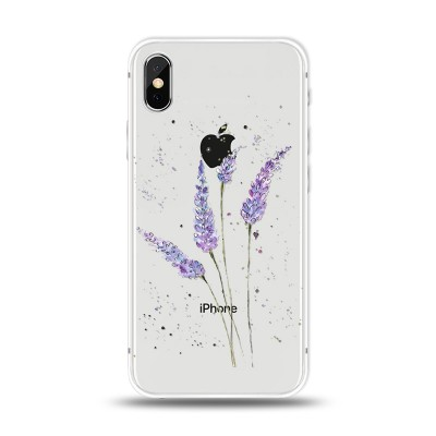 "Husa iPhone X / iPhone Xs ""LAVENDER FEELINGS"""
