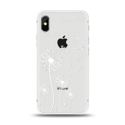 Husa iPhone X / iPhone XS Silicon Premium DANDELION