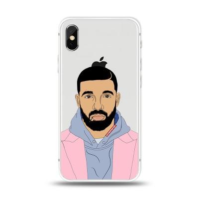 Husa iPhone X / iPhone XS Silicon Premium DRAKE