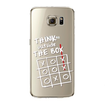 "Husa Samsung Galaxy S6 Edge ""THINK OUTSIDE THE BOX"""
