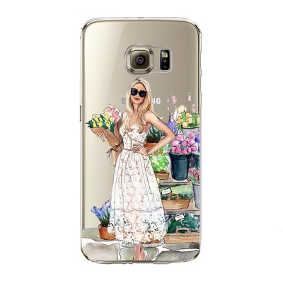 "Husa Samsung Galaxy S7 ""FLOWERS MAKE ME SMILE"""