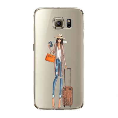 "Husa Samsung Galaxy S6 Edge ""VACATION MODE ON"""