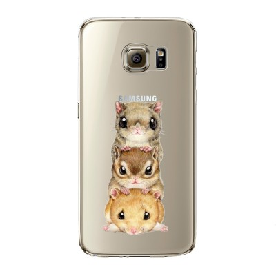 "Husa Samsung Galaxy S6 Edge ""CHIPMUNKS ON TOP"""