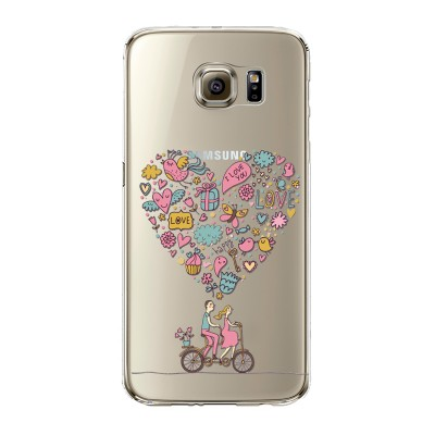 "Husa Samsung Galaxy S6  ""BICYCLE LOVE"""
